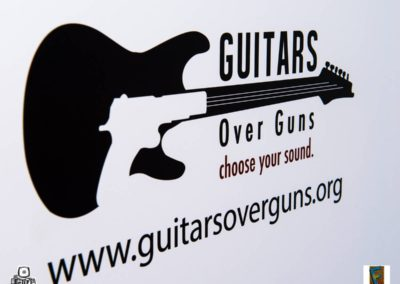 Guitars Over Guns Choose Your Sound Benefit in the Gleason Room Backstage at the Fillmore Miami