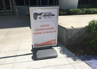 Guitars Over Guns Leadership Miami Marlins graduation ceremony 7