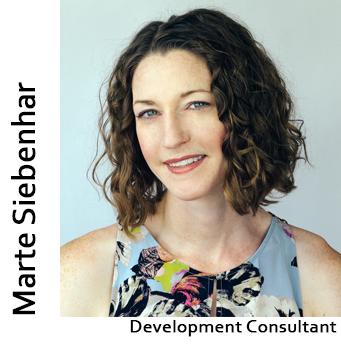 Marte Siebenhar, Development Consultant