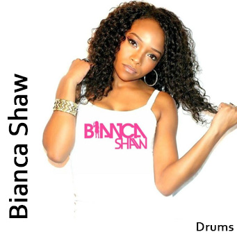 Bianca Shaw, Drums