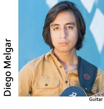 Diego Melgar, Guitar