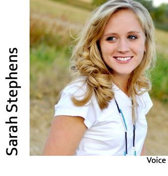 Sarah Stephens, Voice