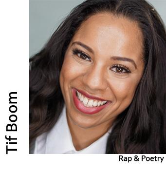 Tif Boom, Rap & Poetry